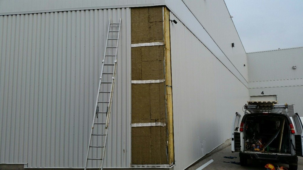 Commercial and industrial metal siding